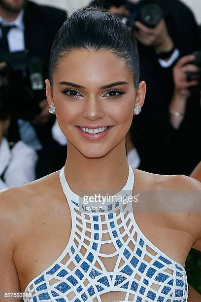 Kendall Jenner attends 'Manus x Machina Fashion in an Age of Technology' the 2016 Costume Institute Gala at the Metropolitan Museum of Art on May 02...