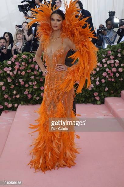 Kendall Jenner attends Met Gala Celebrating Camp: Notes On Fashion - Arrivals at the Metropolitan Museum of Art in New York City on May 6, 2019.