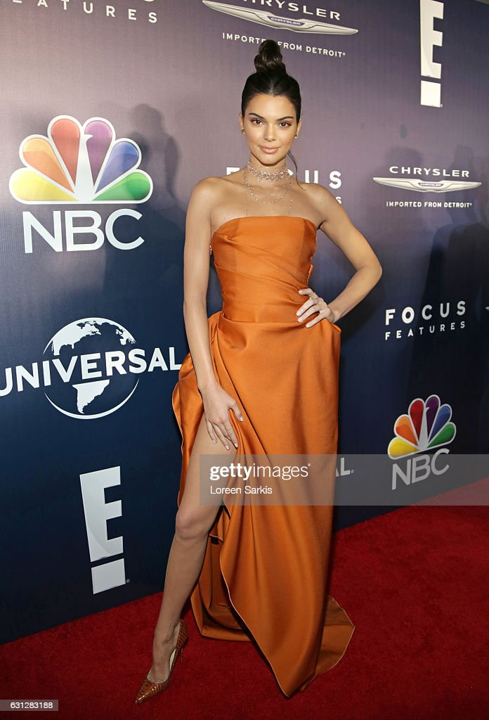 Kendall Jenner attends NBCUniversal's 74th Annual Golden Globes After Party at The Beverly Hilton Hotel on January 8, 2017 in Beverly Hills, California.