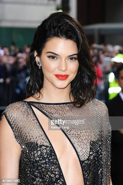 Kendall Jenner attends 'Rei Kawakubo/Comme des Garcons Art Of The InBetween' Costume Institute Gala at Metropolitan Museum of Art on May 1 2017 in...