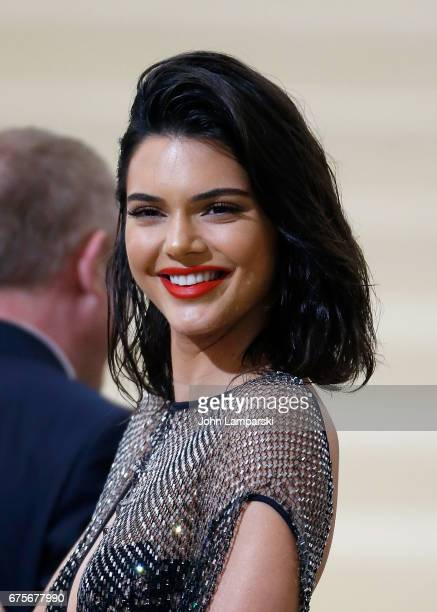 Kendall Jenner attends 'Rei Kawakubo/Comme des Garcons Art Of The InBetween' Costume Institute Gala at The Metropolitan Museum of Art on May 1 2017...