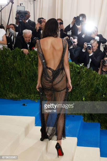 Kendall Jenner attends Rei Kawakubo/Commes Des Garcons Art of the InBetween the 2017 Costume Institute Benefit at Metropolitan Museum of Art on May 1...