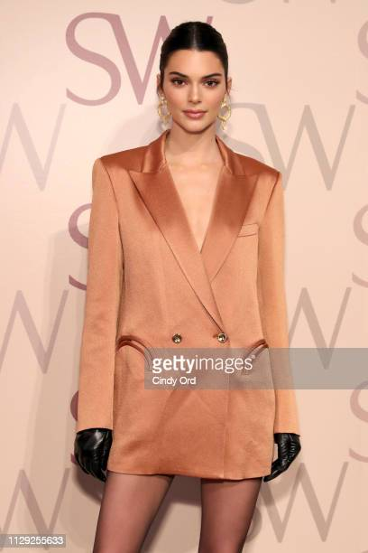 Kendall Jenner attends Stuart Weitzman Spring Celebration 2019 on February 12 2019 in New York City