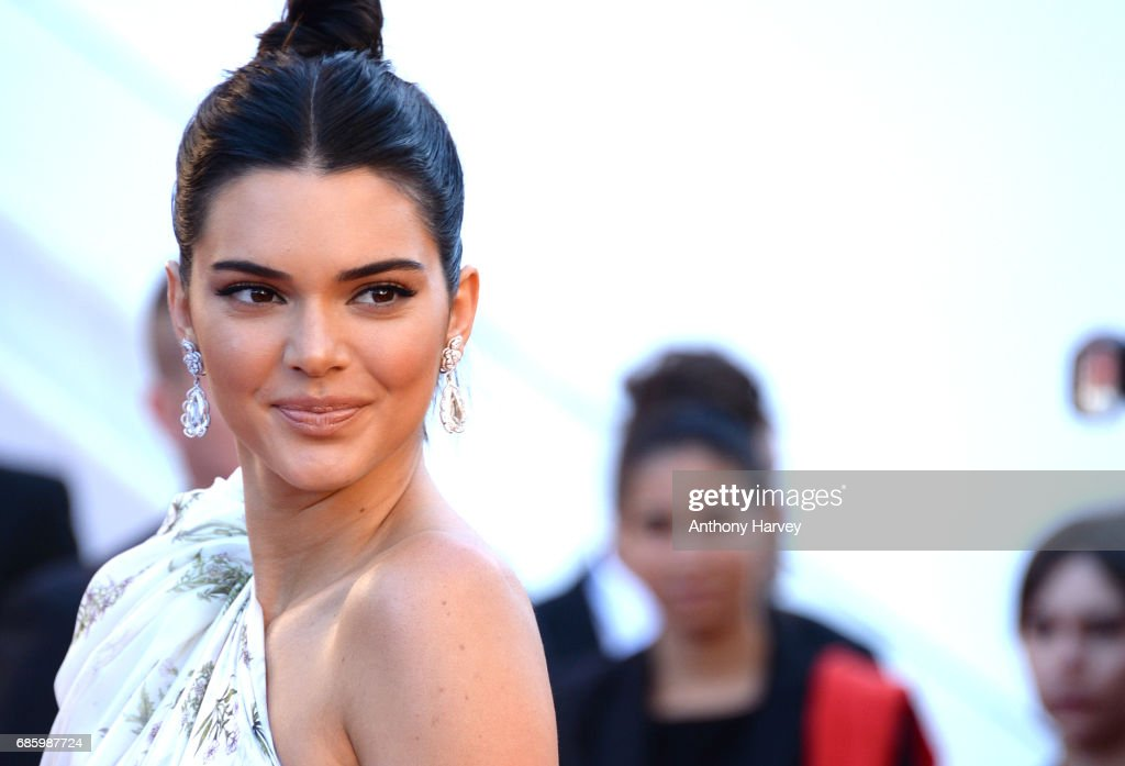 Kendall Jenner attends the '120 Battements Par Minutes (120 Beats Per Minute)' screening during the 70th annual Cannes Film Festival at Palais des Festivals on May 20, 2017 in Cannes, France.