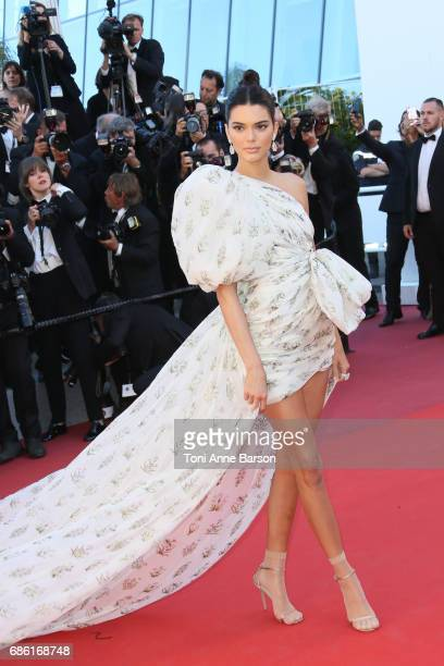 Kendall Jenner attends the '120 Battements Par Minutes ' screening during the 70th annual Cannes Film Festival at Palais des Festivals on May 20 2017...