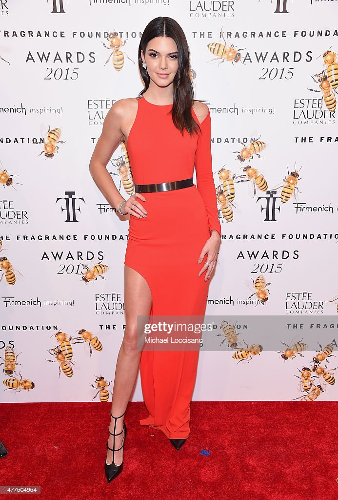 Kendall Jenner attends the 2015 Fragrance Foundation Awards at Alice Tully Hall at Lincoln Center on June 17, 2015 in New York City.