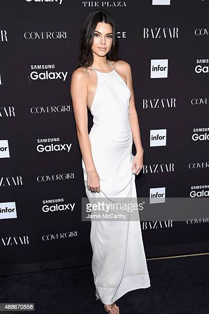 Kendall Jenner attends the 2015 Harper's BAZAAR ICONS Event at The Plaza Hotel on September 16, 2015 in New York City.