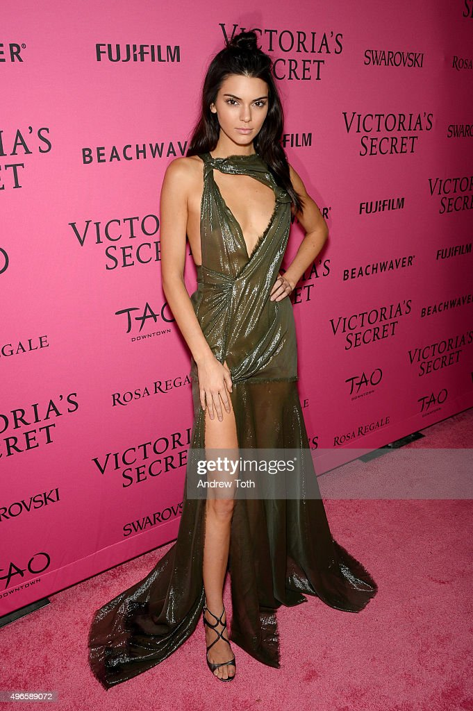 Kendall Jenner attends the 2015 Victoria's Secret Fashion Show after party on November 10, 2015 in New York City.