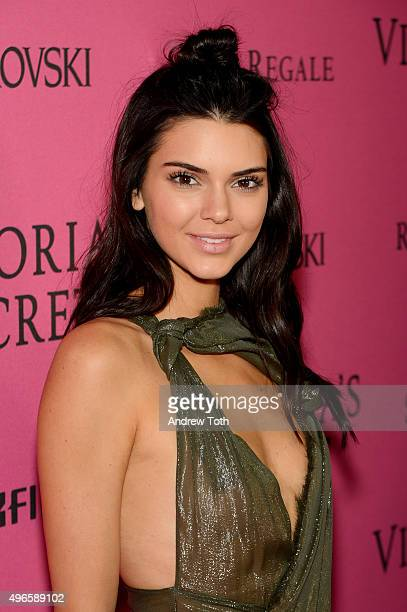 Kendall Jenner attends the 2015 Victoria's Secret Fashion Show after party on November 10 2015 in New York City