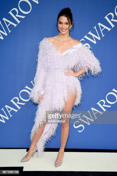 Kendall Jenner attends the 2018 CFDA Fashion Awards at Brooklyn Museum on June 4, 2018 in New York City.