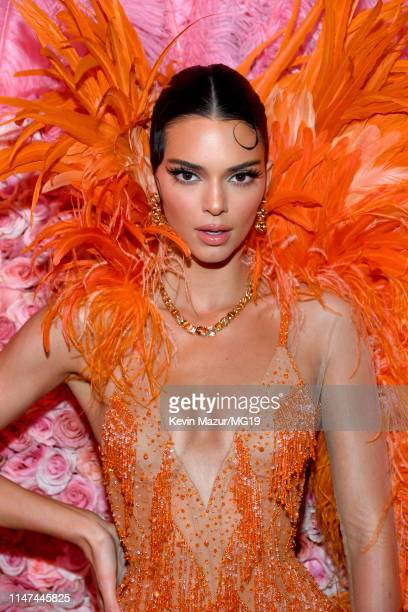 Kendall Jenner attends The 2019 Met Gala Celebrating Camp: Notes on Fashion at Metropolitan Museum of Art on May 06, 2019 in New York City.