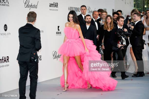 Kendall Jenner attends the amfAR Cannes Gala 2019 at the Hotel du CapEdenRoc on May 23 2019 in Cap d'Antibes France