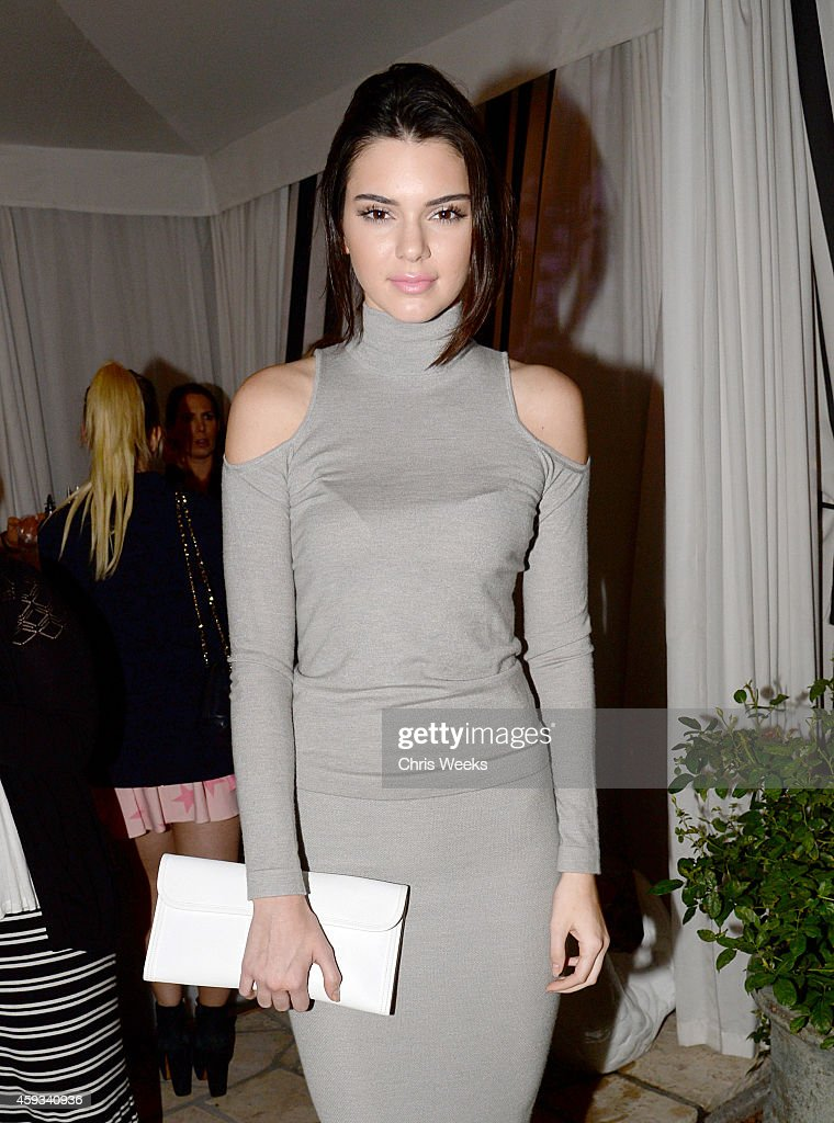Kendall Jenner attends the Barbie Loves Wildfox party celebrating the Resort 2014 collaboration launch at the Wildfox Flagship Store on November 20, 2014 in West Hollywood, California