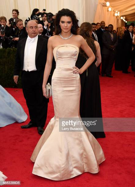 """Kendall Jenner attends the """"Charles James: Beyond Fashion"""" Costume Institute Gala at the Metropolitan Museum of Art on May 5, 2014 in New York City."""