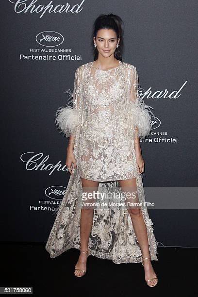 Kendall Jenner attends the Chopard Party during The 69th Annual Cannes Film Festival on May 16 2016 in Cannes
