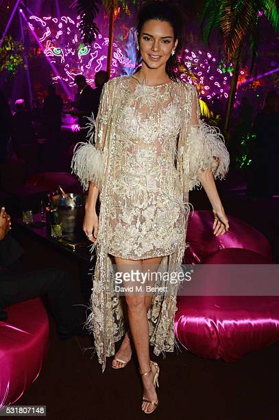 Kendall Jenner attends the Chopard Wild Party during the 69th Annual Cannes Film Festival at Port Canto on May 16 2016 in Cannes