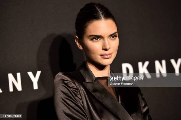 Kendall Jenner attends the DKNY 30th Anniversary party at St. Ann's Warehouse on September 09, 2019 in New York City.