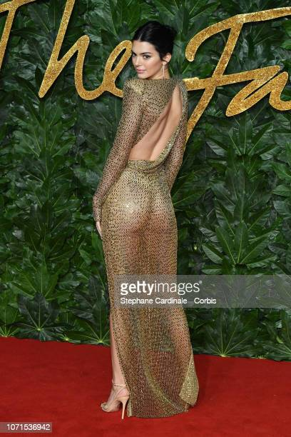 Kendall Jenner attends the Fashion Awards 2018 in partnership with Swarovski at Royal Albert Hall on December 10 2018 in London England