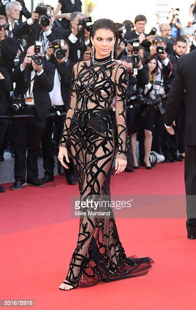 Kendall Jenner attends the From The Land Of The Moon premiere during the 69th annual Cannes Film Festival at the Palais des Festivals on May 15 2016...