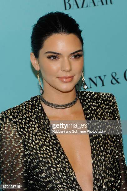 Kendall Jenner attends the Harper's Bazaar 150th Anniversary Party at The Rainbow Room on April 19 2017 in New York City