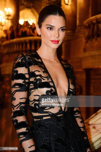 Kendall Jenner attends the Longchamp 70th Anniversary Celebration at Opera Garnier on September 11 2018 in Paris France