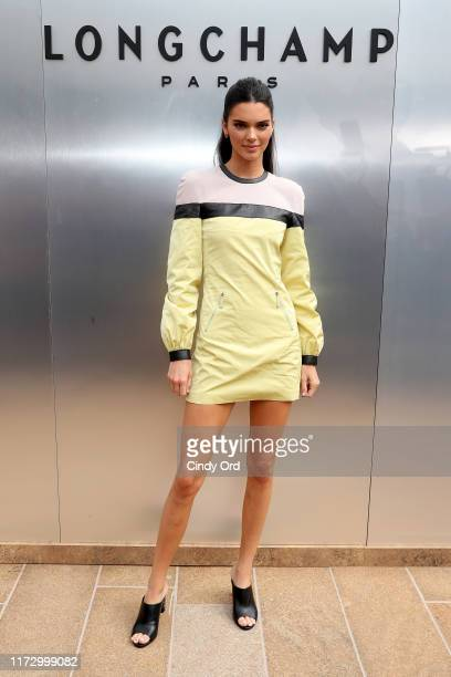 Kendall Jenner attends the Longchamp SS20 Runway Show at Hearst Plaza Lincoln Center on September 07 2019 in New York City
