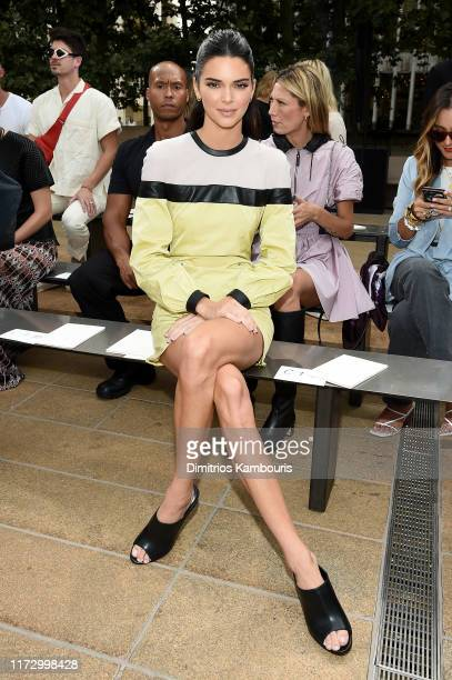 Kendall Jenner attends the Longchamp SS20 Runway Show on September 07, 2019 in New York City.