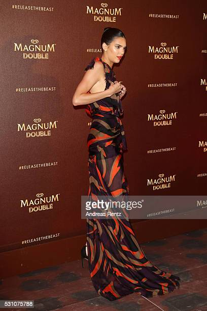 Kendall Jenner attends the Magnum Doubles Party at the annual 69th Cannes Film Festival at Plage Magnum on May 12 2016 in Cannes France