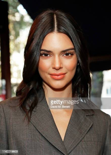 Kendall Jenner attends the #MOVINGLOVE dinner hosted by Felicity Jones Derek Blasberg Katie Grand at Bellanger on July 15 2019 in London England