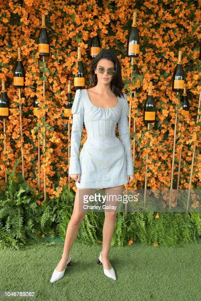 Kendall Jenner attends the NinthAnnual Veuve Clicquot Polo Classic Los Angeles at Will Rogers State Historic Park on October 6 2018 in Pacific...