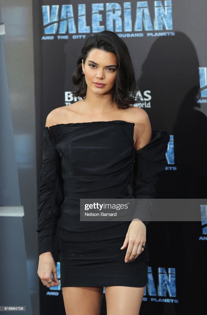 Kendall Jenner attends the premiere of EuropaCorp and STX Entertainment's 'Valerian and The City of a Thousand Planets' at TCL Chinese Theatre on July 17, 2017 in Hollywood, California.