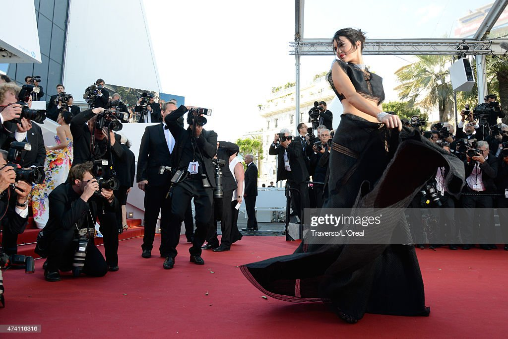 """""""Youth"""" Premiere - The 68th Annual Cannes Film Festival : News Photo"""