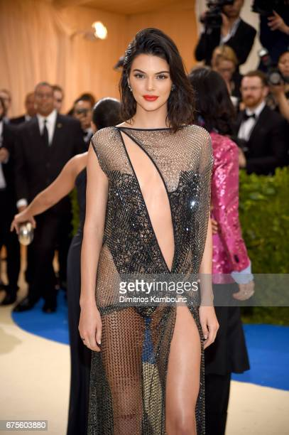 """Kendall Jenner attends the """"Rei Kawakubo/Comme des Garcons: Art Of The In-Between"""" Costume Institute Gala at Metropolitan Museum of Art on May 1,..."""