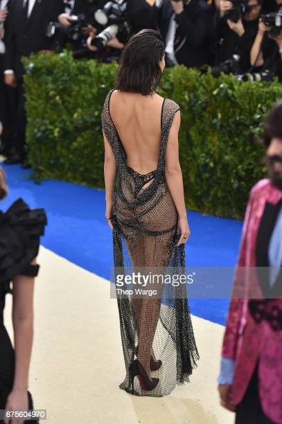 Kendall Jenner attends the 'Rei Kawakubo/Comme des Garcons Art Of The InBetween' Costume Institute Gala at Metropolitan Museum of Art on May 1 2017...