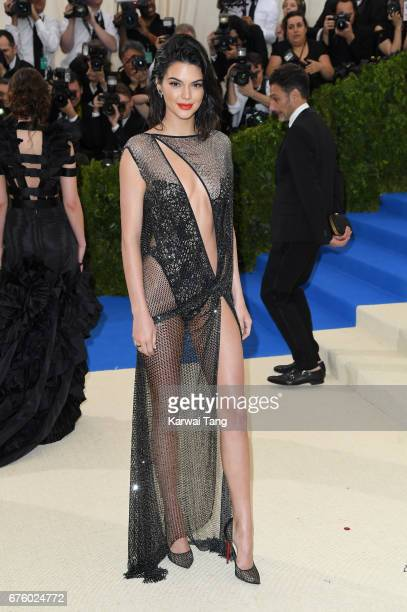 Kendall Jenner attends the 'Rei Kawakubo/Comme des Garcons Art Of The InBetween' Costume Institute Gala at the Metropolitan Museum of Art on May 1...