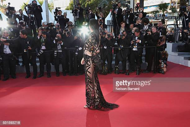 Kendall Jenner attends the screening of 'From The Land Of The Moon ' at the annual 69th Cannes Film Festival at Palais des Festivals on May 15, 2016...