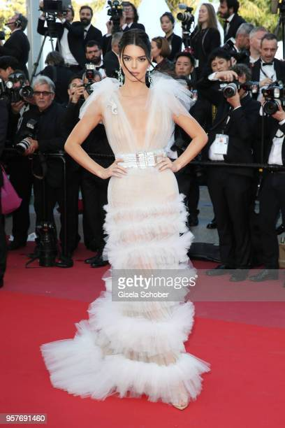 """Kendall Jenner attends the screening of """"Girls Of The Sun """" during the 71st annual Cannes Film Festival at Palais des Festivals on May 12, 2018 in..."""