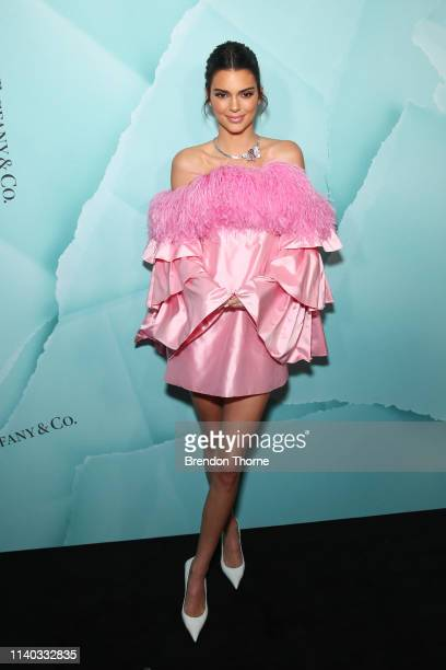 Kendall Jenner attends the Tiffany & Co. Flagship Store Launch on April 04, 2019 in Sydney, Australia.