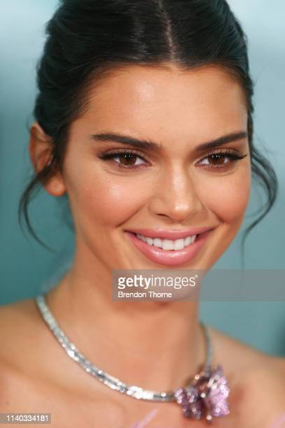 Kendall Jenner attends the Tiffany Co Flagship Store Launch on April 04 2019 in Sydney Australia