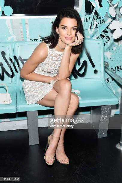 Kendall Jenner attends the Tiffany Co Paper Flowers event and Believe In Dreams campaign launch on May 3 2018 in New York City