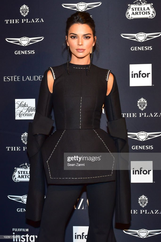 Kendall Jenner attends The Worldwide Editors Of Harper's Bazaar Celebrate ICONS by Carine Roitfeld presented by Infor, Stella Artois, FUJIFILM, Estee Lauder, Saks Fifth Avenue and Genesis at The Plaza Hotel on September 7, 2018 in New York City.