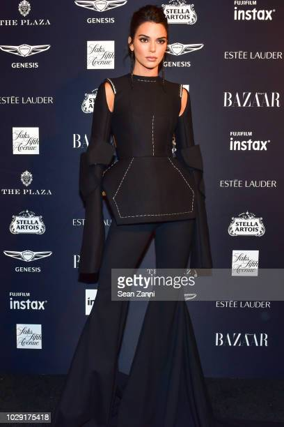 Kendall Jenner attends The Worldwide Editors Of Harper's Bazaar Celebrate ICONS by Carine Roitfeld presented by Infor Stella Artois FUJIFILM Estee...