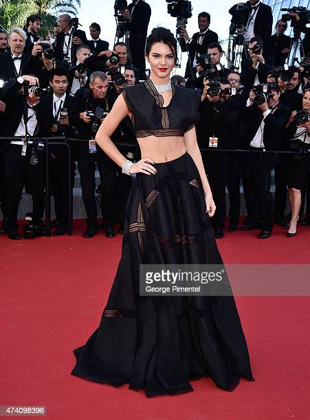 Kendall Jenner attends the Youth Premiere during the 68th annual Cannes Film Festival on May 20 2015 in Cannes France