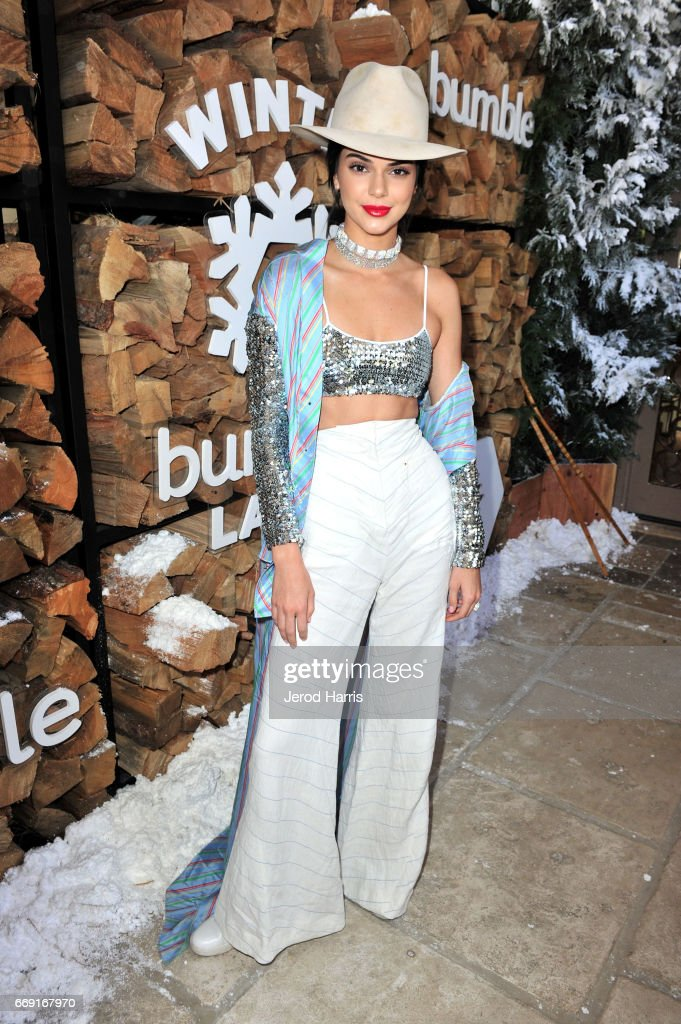 Kendall Jenner attends Winter Bumbleland - Day 1 on April 15, 2017 in Rancho Mirage, California.