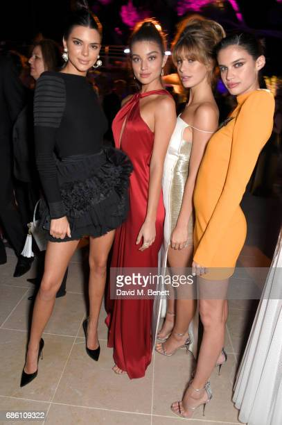 Kendall Jenner Camila Morrone Daniela Lopez Osorio and Sara Sampaio attend the Vanity Fair and Chopard Party celebrating the Cannes Film Festival at...