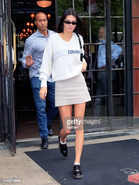 Kendall Jenner departs her hotel on May 8 2019 in New York City