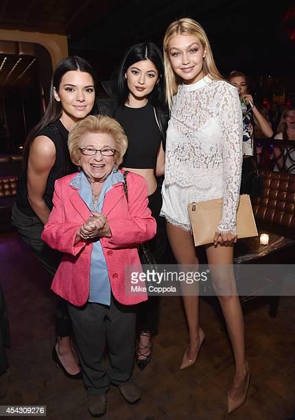 Kendall Jenner Dr Ruth Kylie Jenner and Gigi Hadid attend DuJour Magazine's Jason Binn celebrating Kendall and Kylie Jenner's Bruce Weber shoot...
