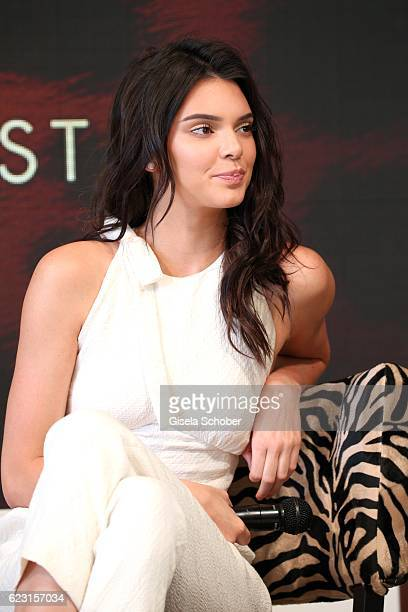 Kendall Jenner during a photo call ahead of the Magnum Doubles Party at the annual 69th Cannes Film Festival at Plage Magnum on May 12 2016 in Cannes...
