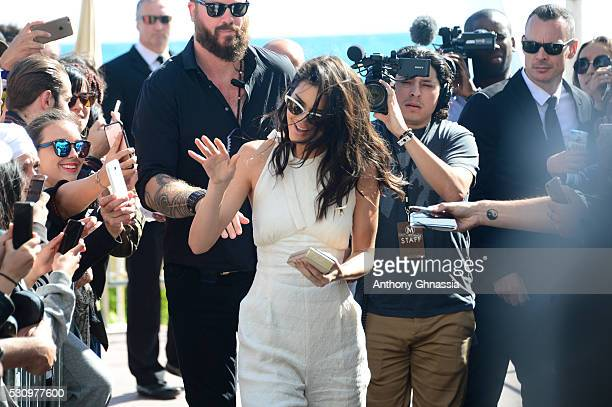 Kendall Jenner is seen during the annual 69th Cannes Film Festival at on May 12 2016 in Cannes France