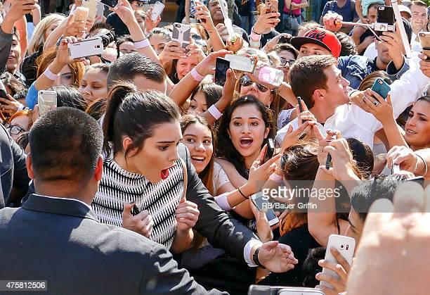 Kendall Jenner is seen in Los Angeles on June 03 2015 in Los Angeles California